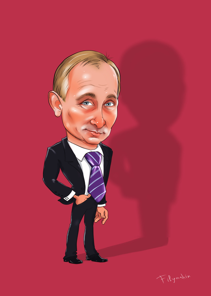 Шарж на Путина