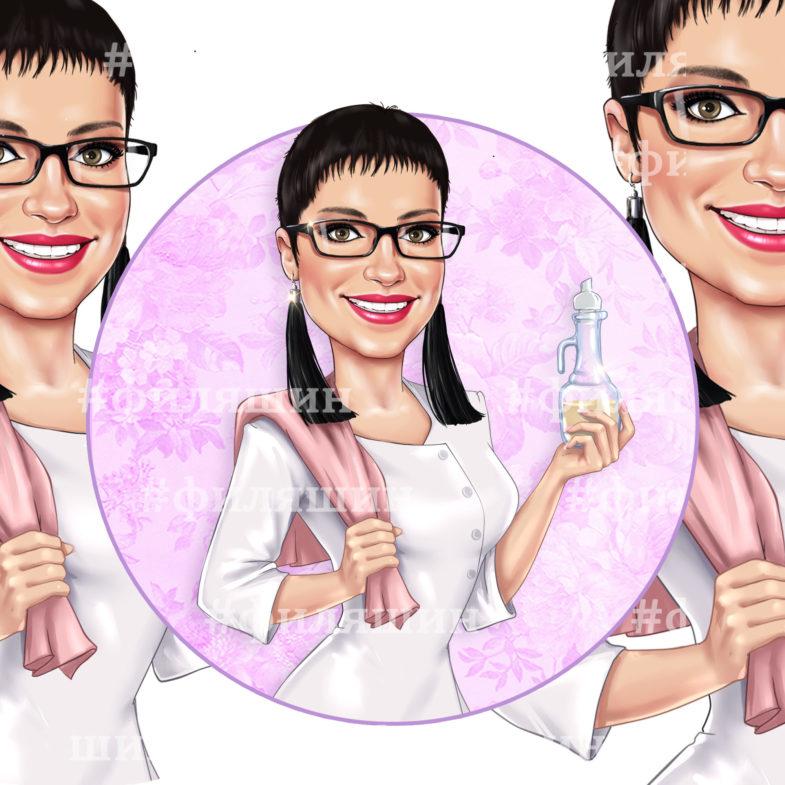 Аватарка массажиста для Инстаграма