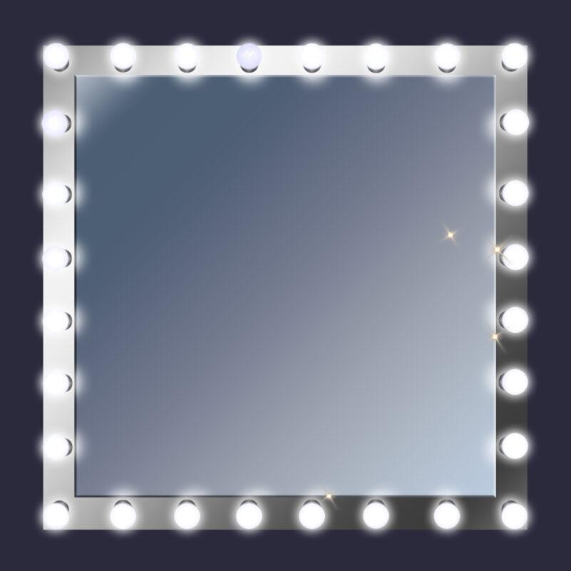 Фон зеркало