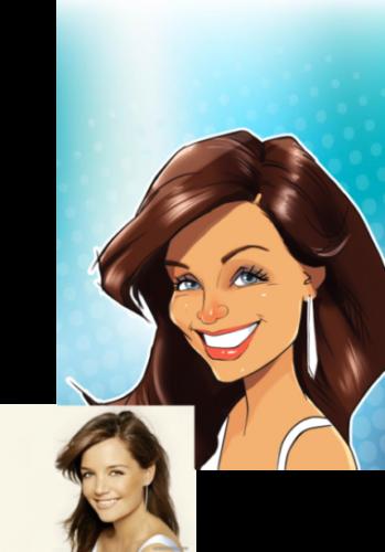 Аватарка для вк, мультяшный аватар для соцсети